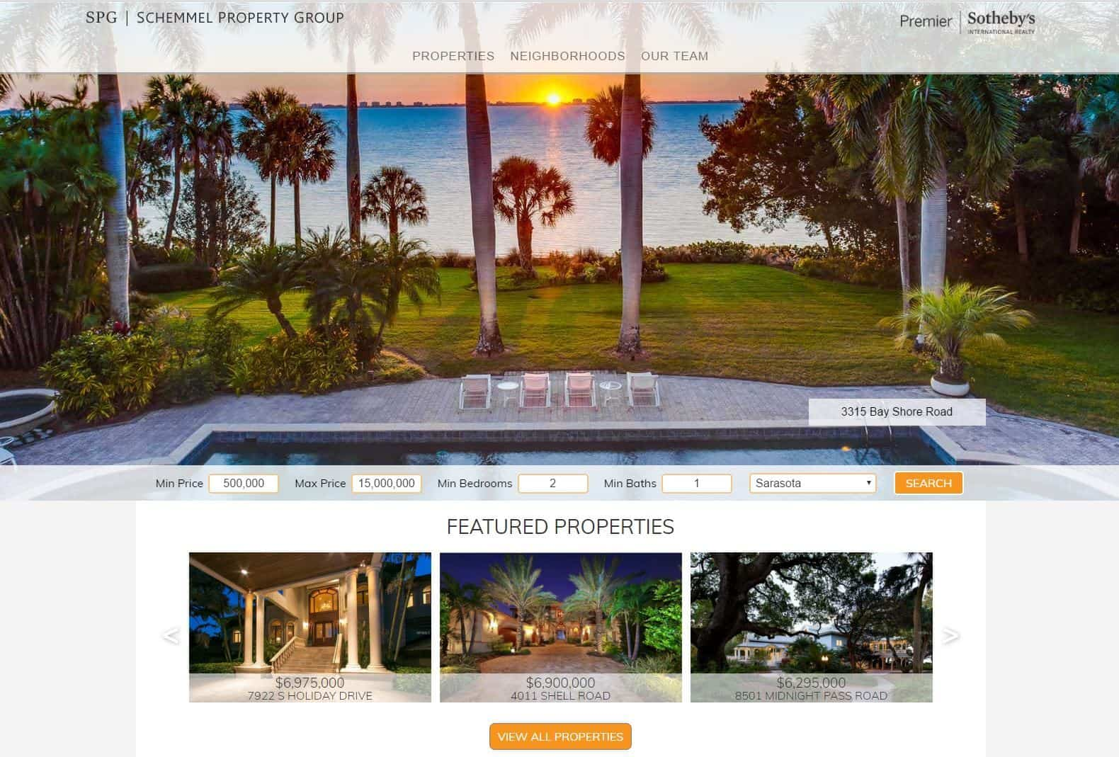 schemmel real estate web design