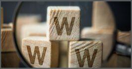 3 blocks that say w, representing www