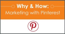 why and how marketing with pinterest