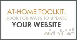 at home toolkit look for ways to update your website