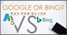 bing vs google pay per click