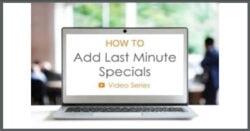 last minute specials